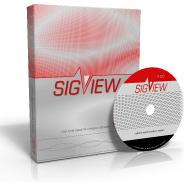 SIGVIEW box with CD